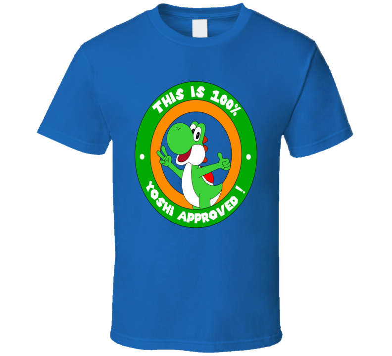 Yoshi Approved Video Game T Shirt