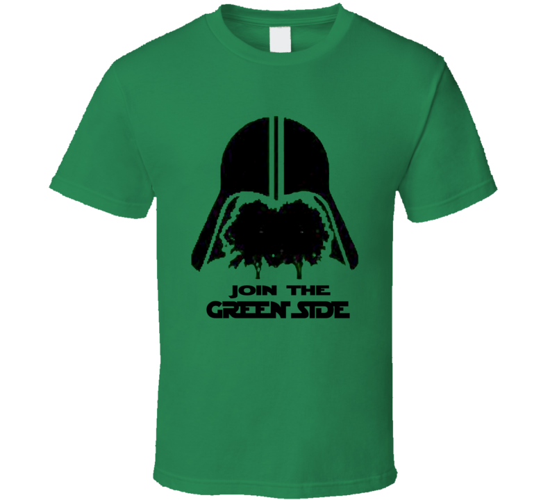 Join The Green Side Star Wars Darth Vader T Shirt