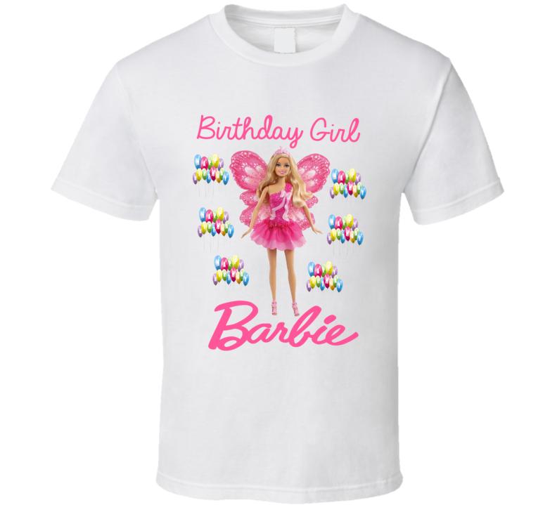 Birthday Girl Barbie T Shirt