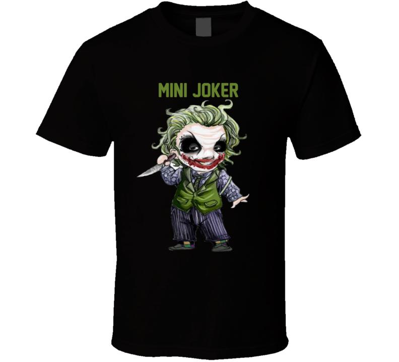 Mini Joker Cartoon  T Shirt
