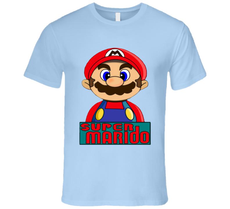 Super Marido Super Mario Bross  T Shirt