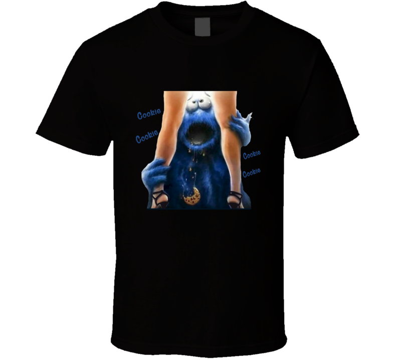Cookie Monster Woman Cookie T Shirt
