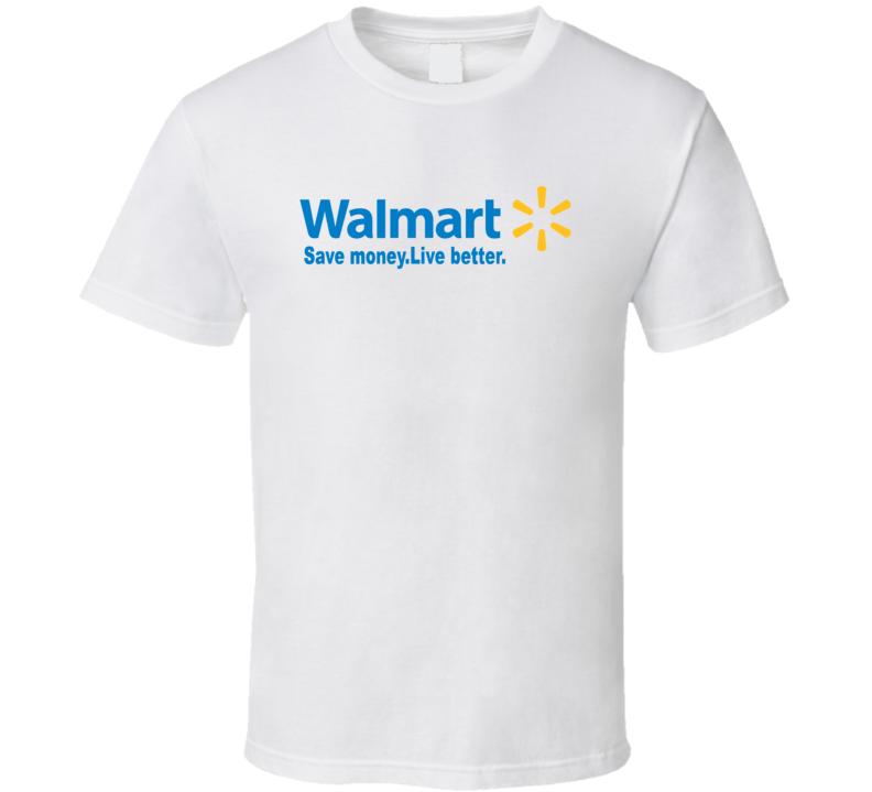Walmart Logo Save Money Live Better  T Shirt
