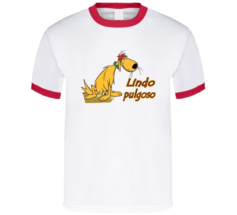 Lindo Pulgoso Dog Perro Hanna Barbera  T Shirt