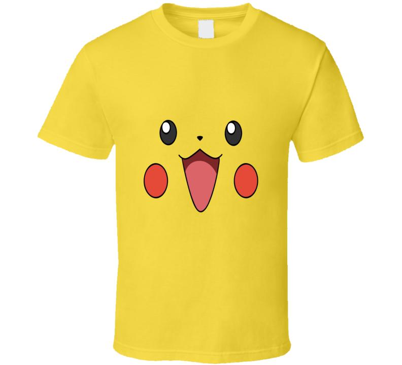 Pikachu Face T shirt