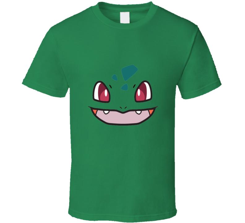 Bulbasaur Face Pokemon Go T Shirt