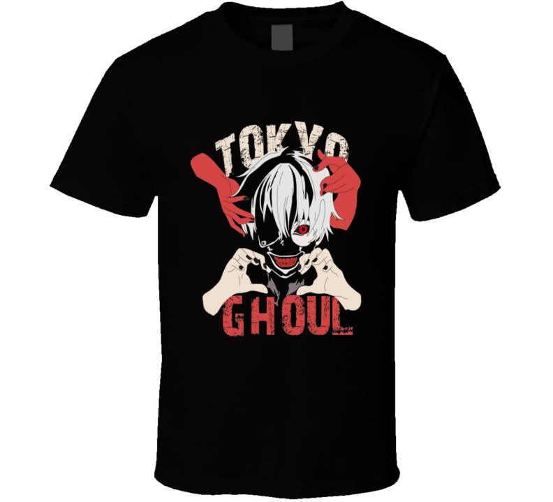Tokyo ghoul Kaneki ken Japanese anime Anime  T Shirt