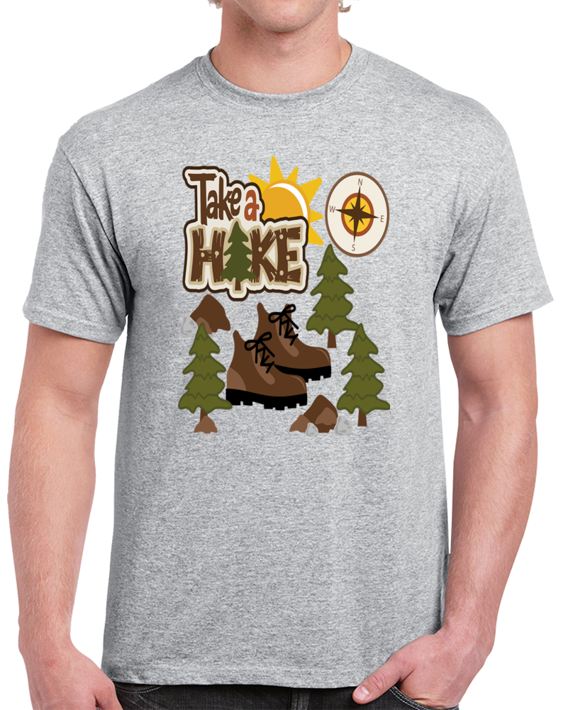 Take A Hike Camping Outdoors Svg T Shirt