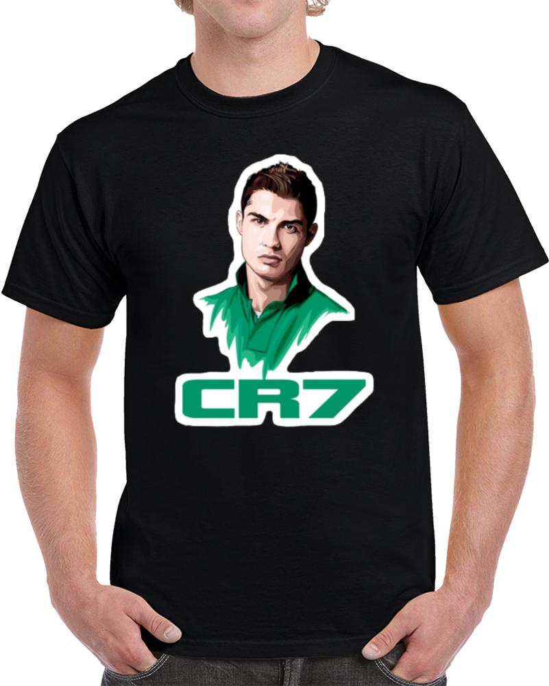 Cr7 Cristiano Ronaldo Real Madrid T Shirt