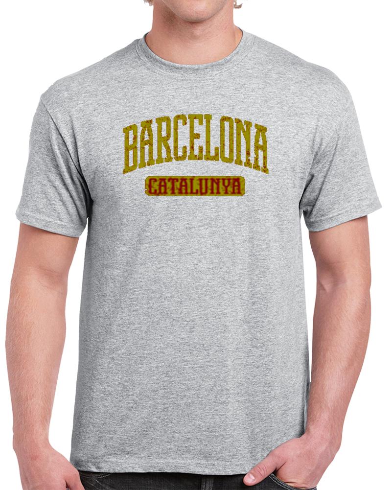 Barcelona Catalunya España Spain Futbol Club Barcelona T Shirt