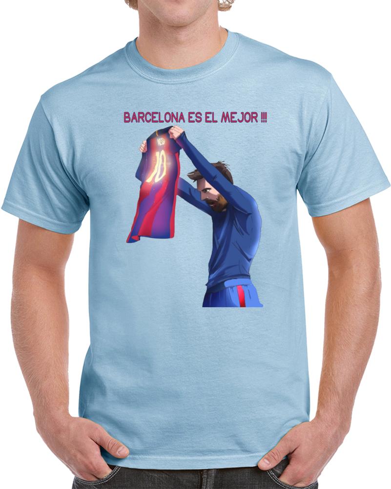 Messi Futbol Club Barcelona Es El Mejor T Shirt