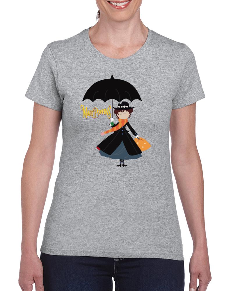 Mary Poppins Doll T Shirt