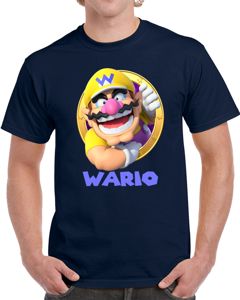 Wario Video Game Mario Bross T Shirt