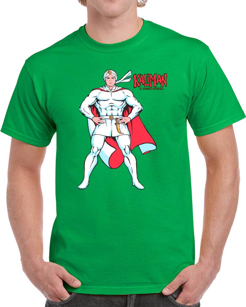 Kaliman El Hombre Increible  T Shirt