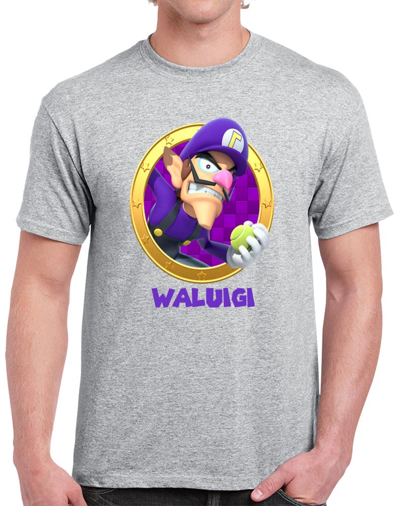 Waluigi Super Mario Video Game  T Shirt