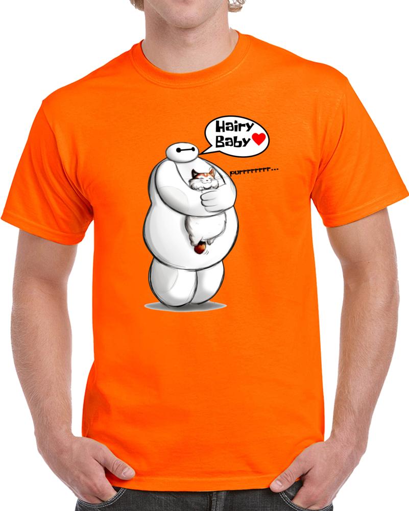 Hairy Baby Big Hero 6  T Shirt