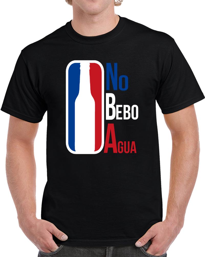 Nba No Bebo Agua Cerveza Beer  T Shirt