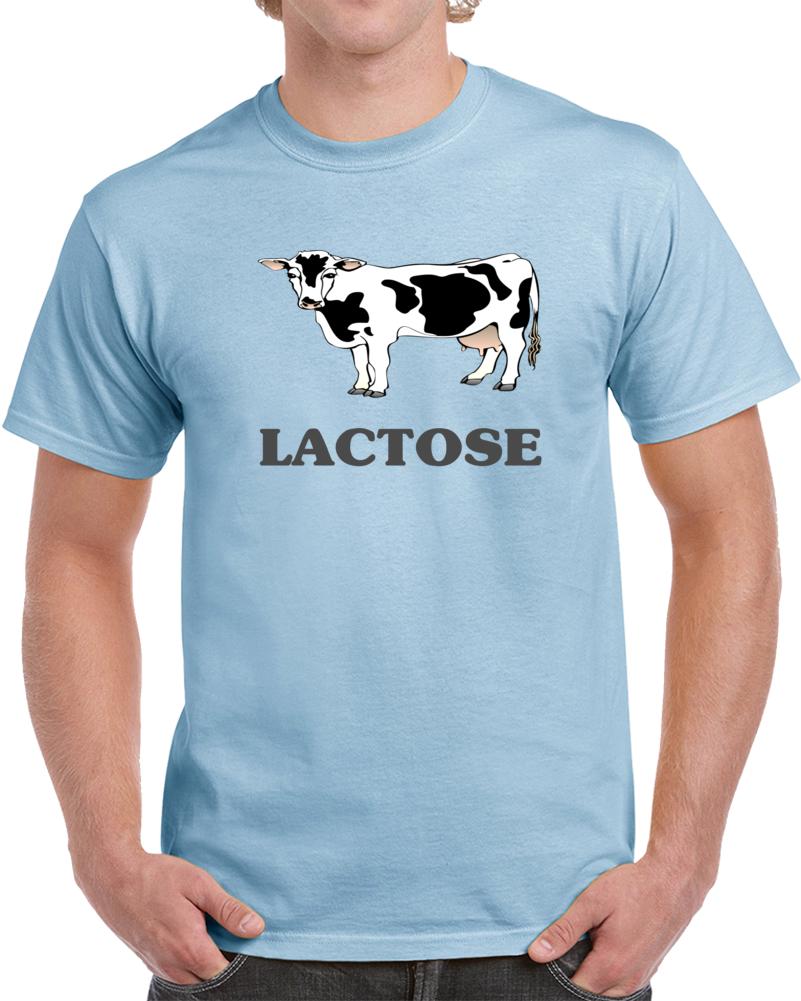 Lactose Cow Vaca  T Shirt