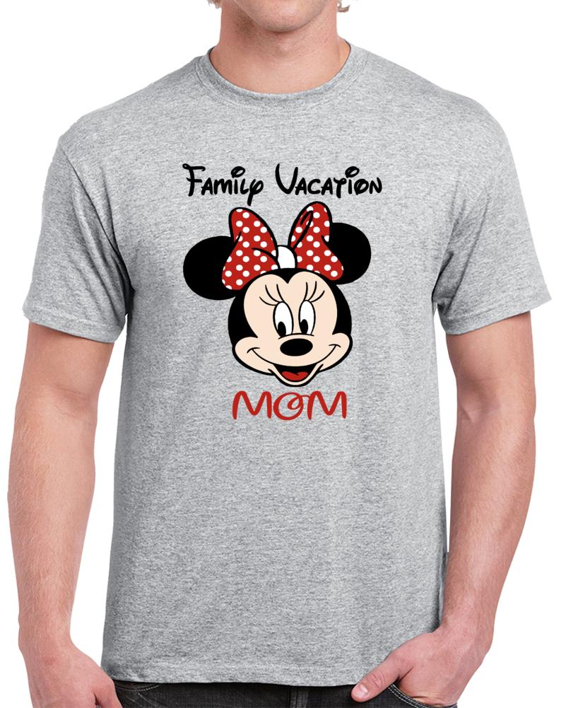 Disney Family Vacation Mom  T Shirt