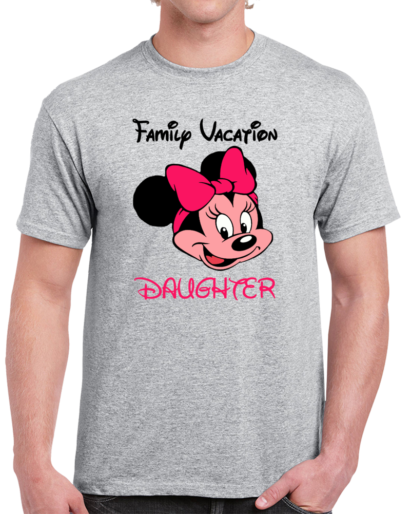 Disney Family Vacation Daughter  T Shirt