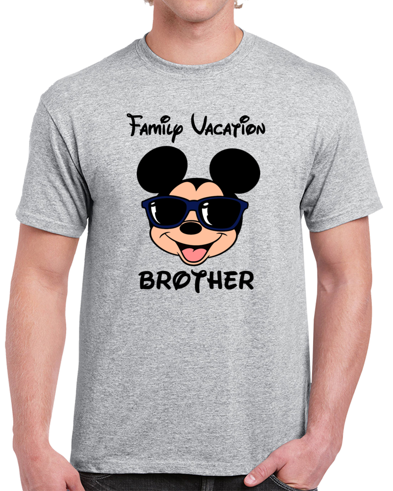 Disney Family Vacation Brother  T Shirt