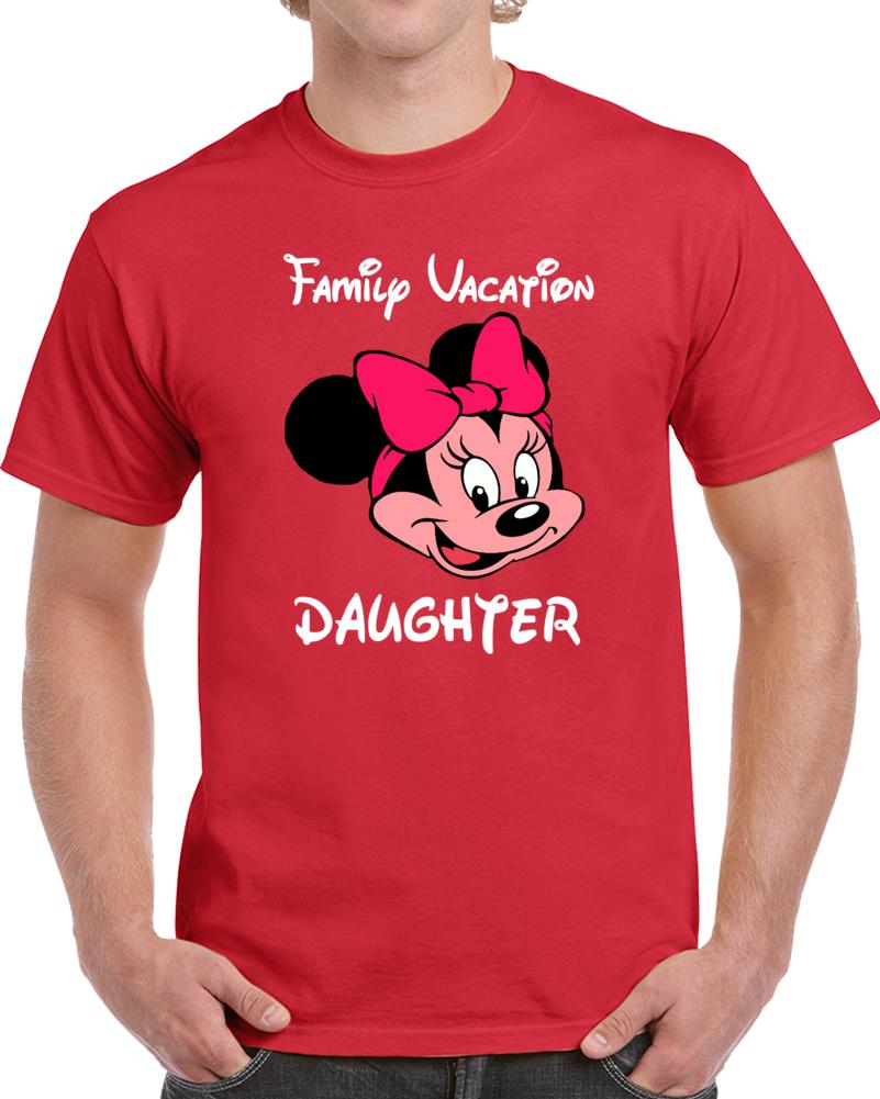Disney Family Vacation Daughter   T Shirt