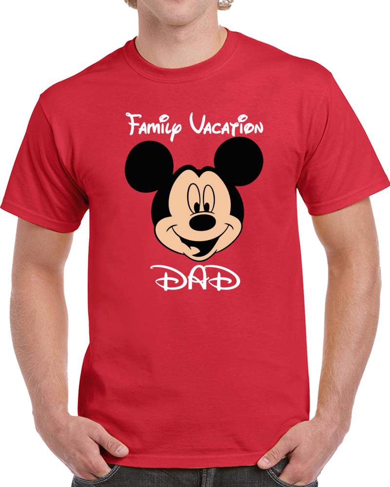 Disney Family Vacation Dad  T Shirt