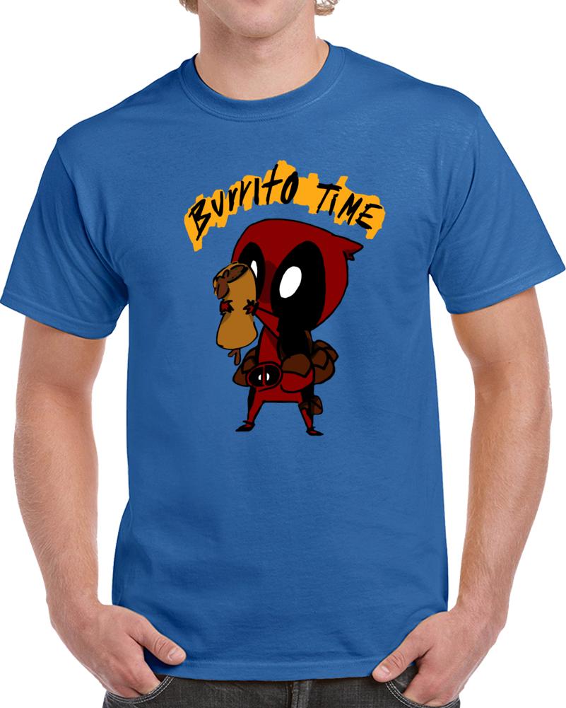 Deadpool Burrito Time  T Shirt