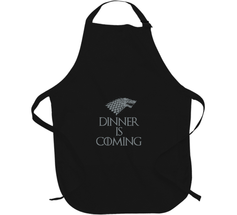 Dinner Is Coming Wolf Game Of Thrones  Apron