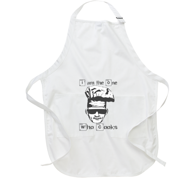 Breaking Bad I Am The On Who Cooks  Apron
