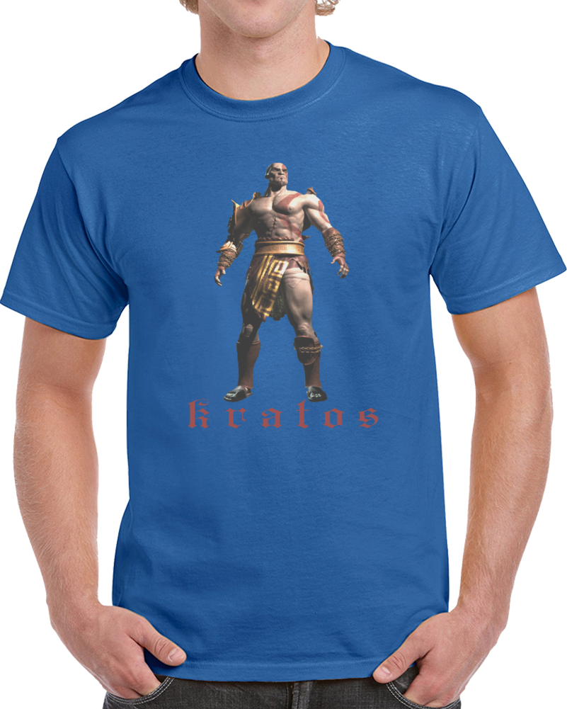 Kratos The God Of War   T Shirt