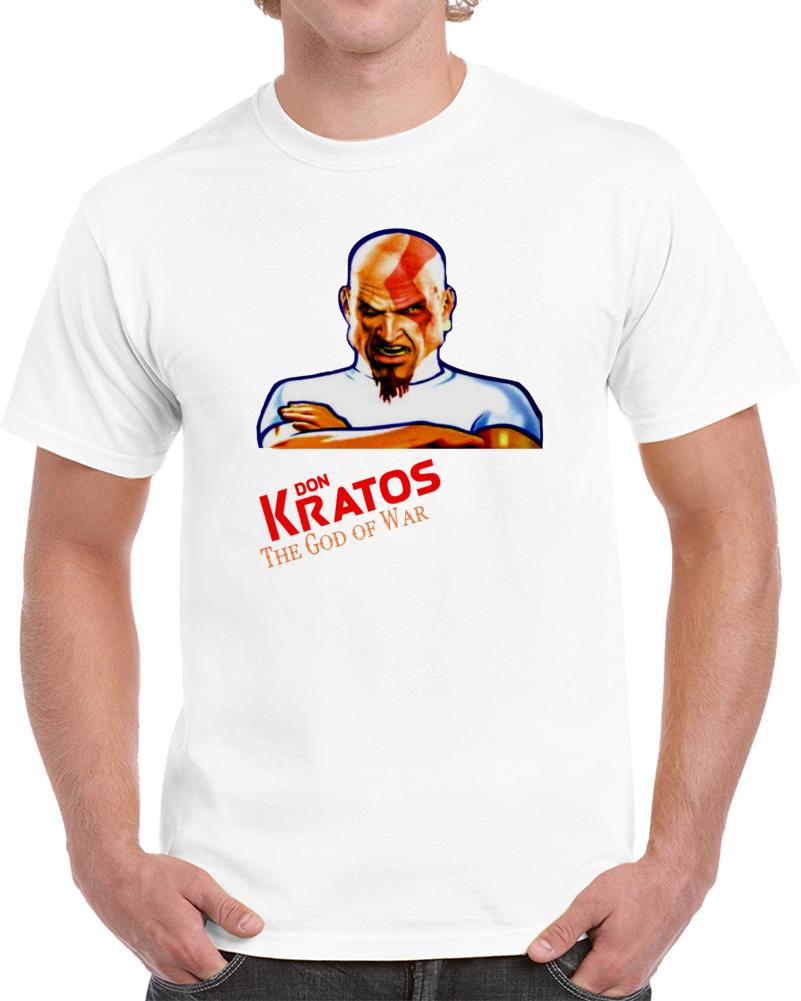Don Kratos The God Of War  T Shirt