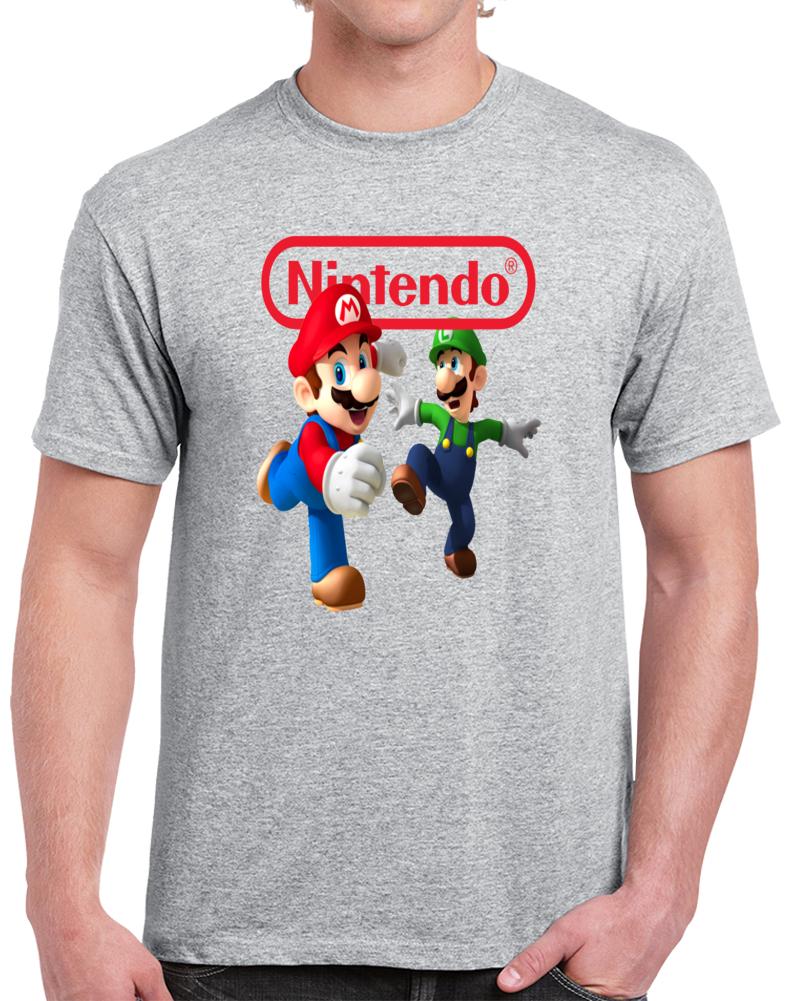Nintendo Mario And Luigi  T Shirt