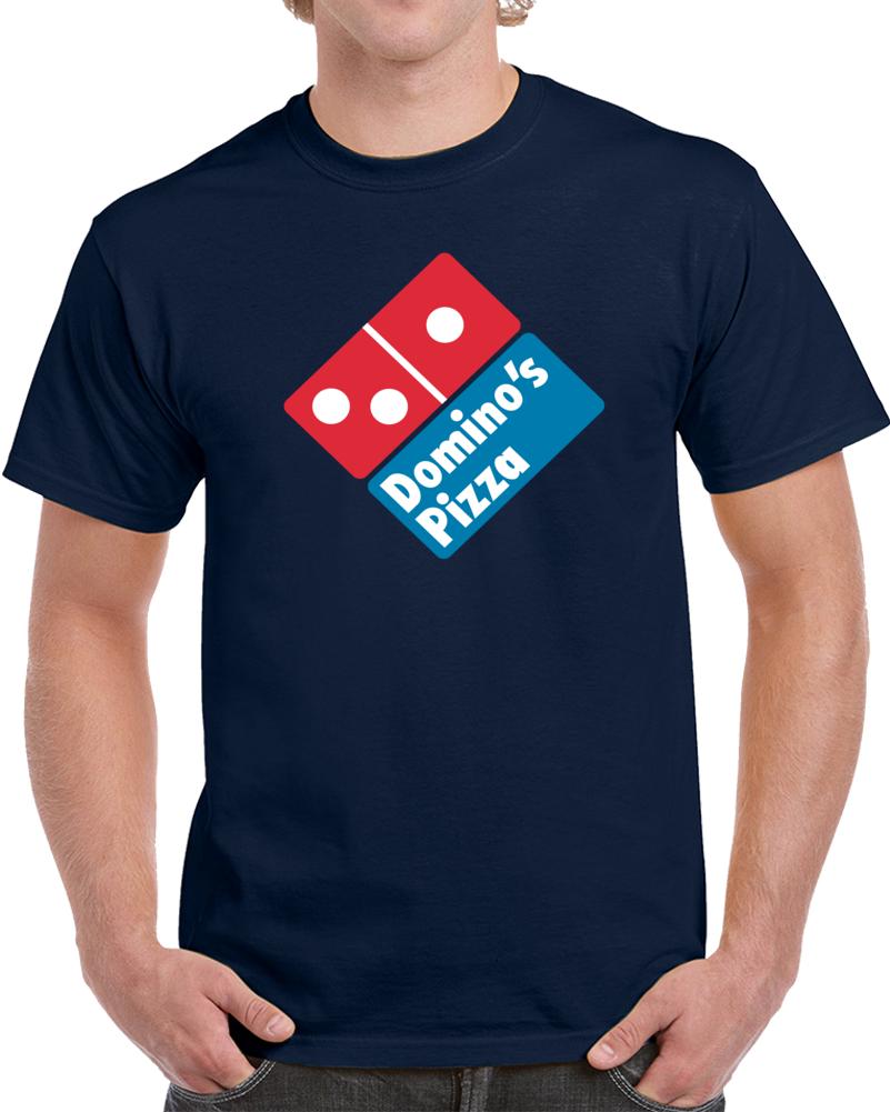 Domino's Pizza Logo  T Shirt