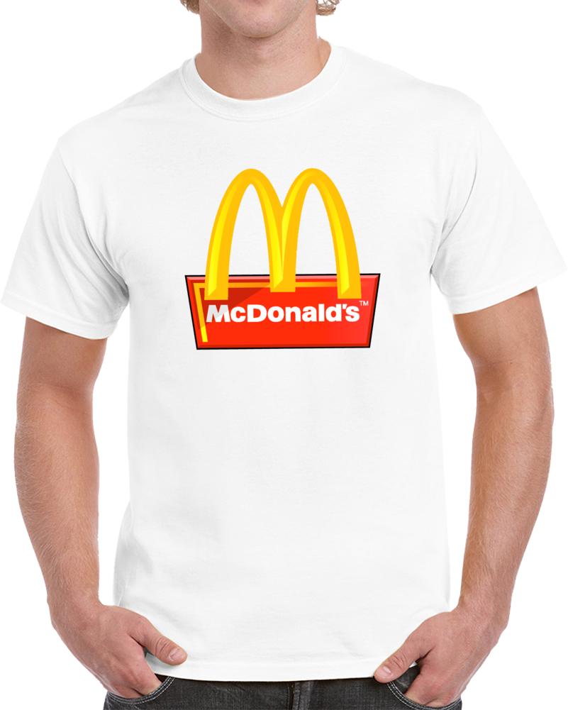 Mcdonald's Logo Mc Donald's  T Shirt