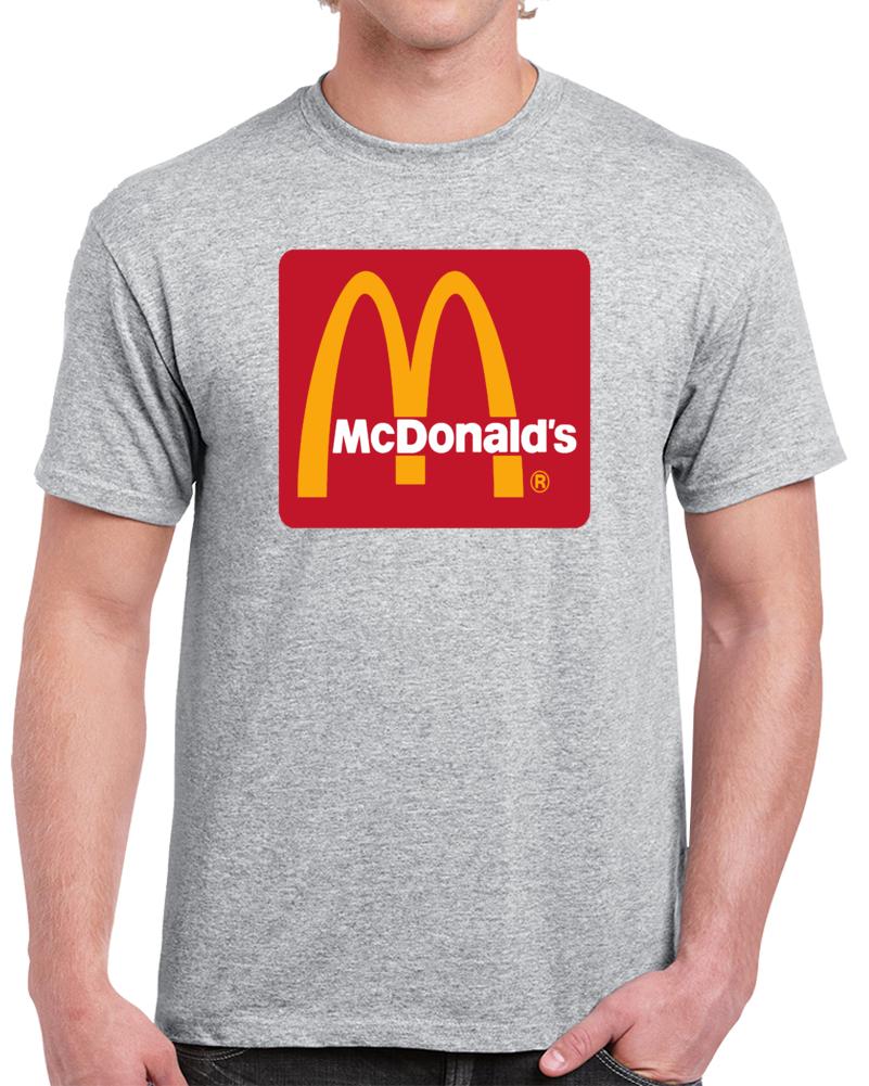 Mc Donald's Logo Macdonald's T Shirt