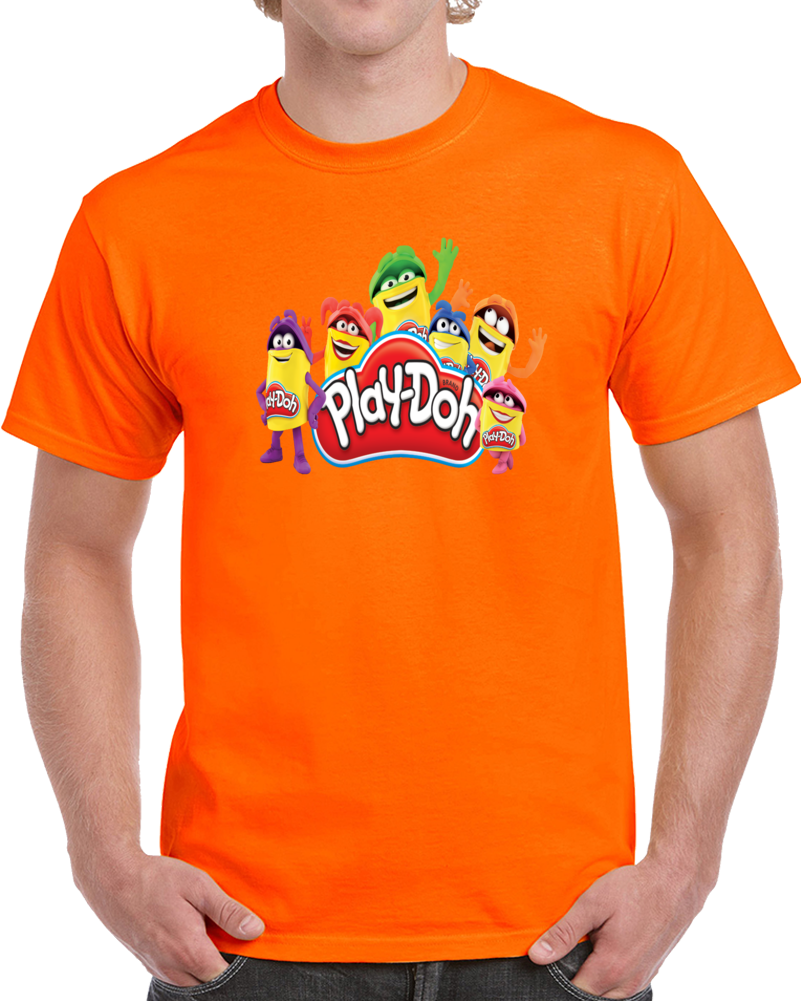 Play Doh Logo  T Shirt