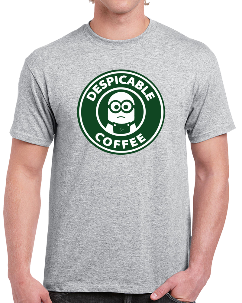 Despicable Coffee Minion  T Shirt