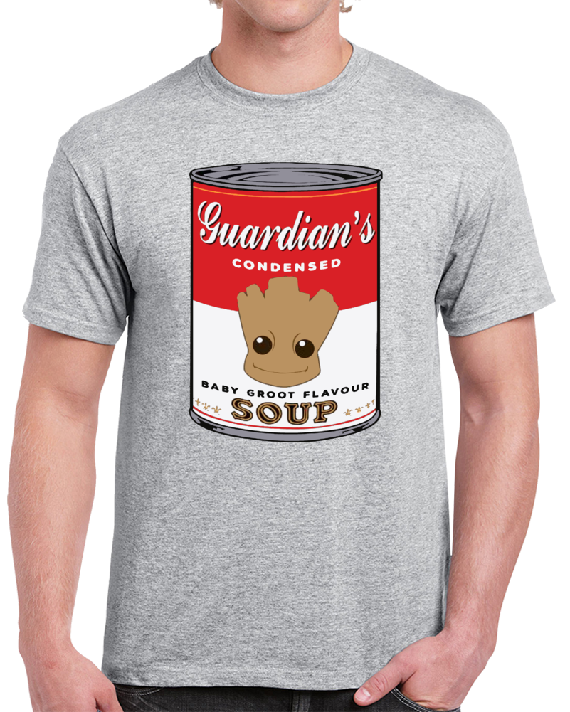 Guardian's Condensed Baby Groot Flavour Soup  T Shirt