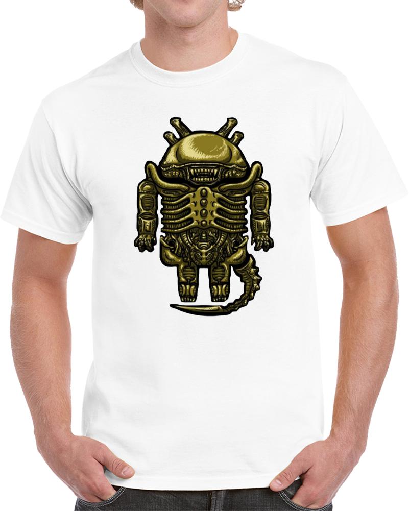 Droilien Alien Android  T Shirt