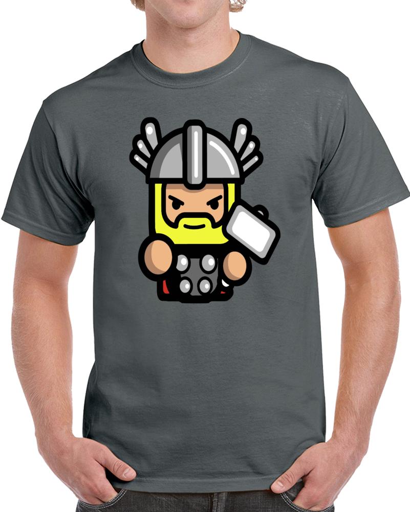 Thor Son Of Odin Avengers Cartoon  T Shirt