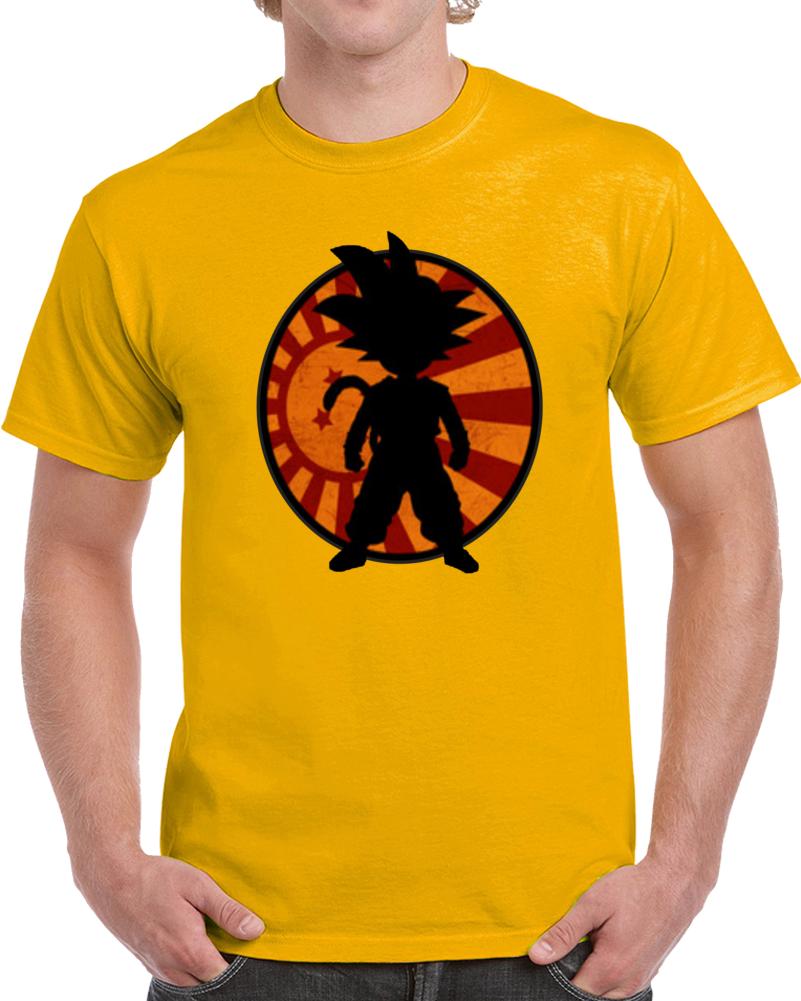 Goku Rising  T Shirt