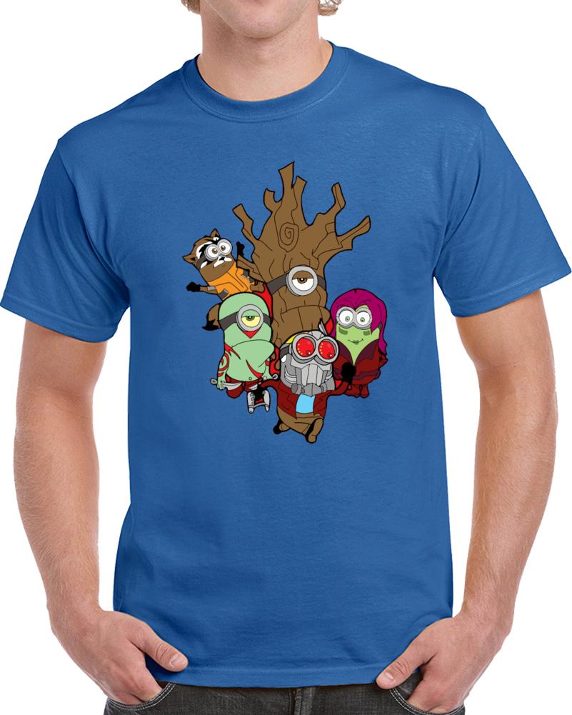 Minions Of The Galaxy Guardians  T Shirt
