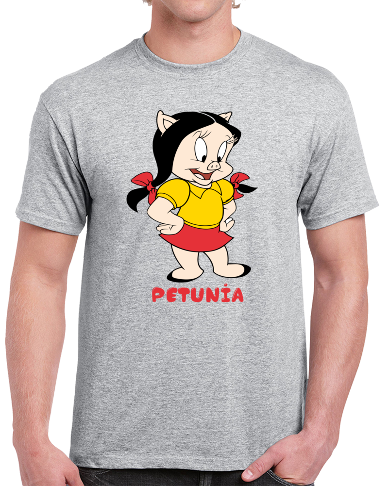 Petunia The Pig Looney Tunes  T Shirt