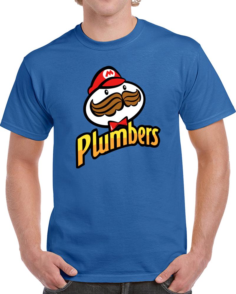 Super Mario Plumbers   T Shirt