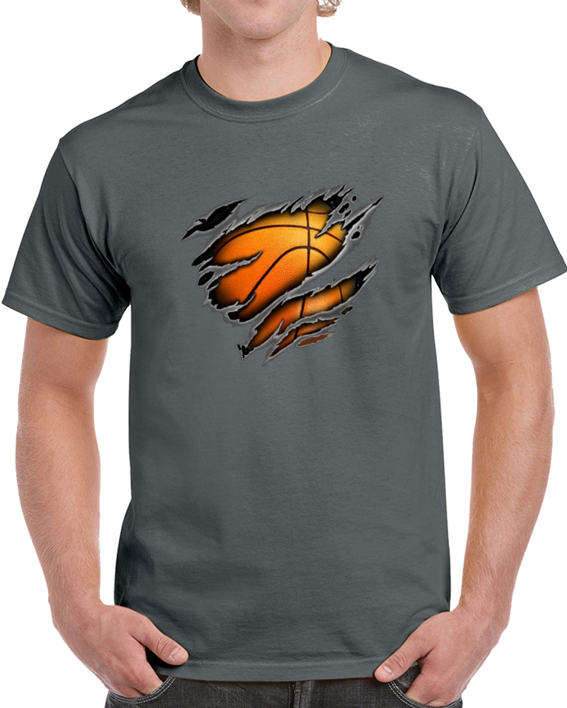 Basketball Inside Me  T Shirt