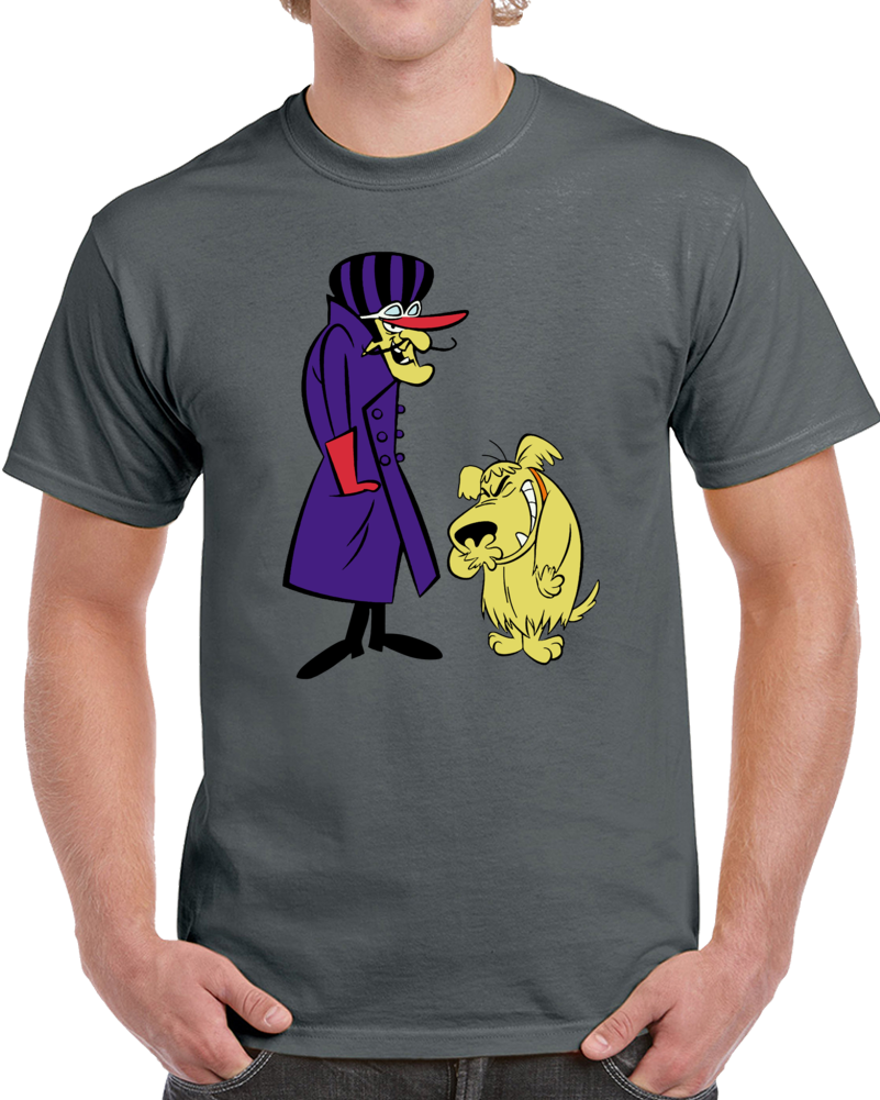 Richard Dick  Milhous Dastardly And Muttley  T Shirt
