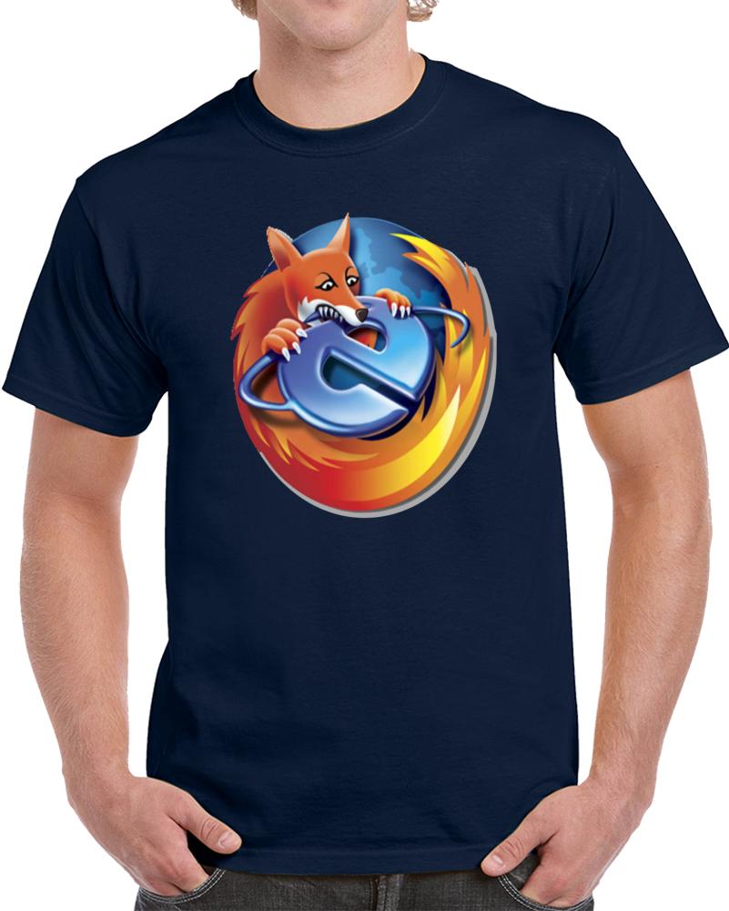 Fire Fox Vs Internet Explorer  T Shirt