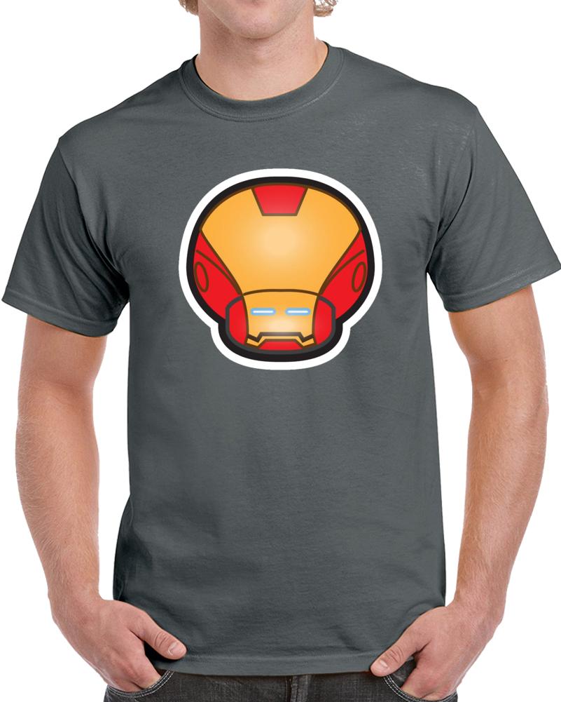 Super Mario Mushroom Iron Man  T Shirt