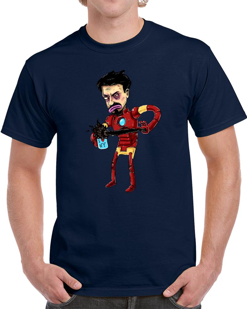Iron Man Tony Stark  T Shirt
